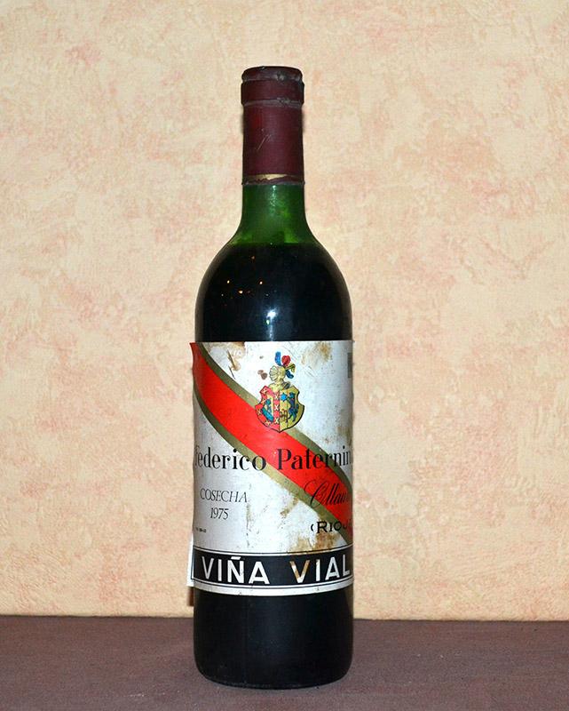 Viña Vial Paternina Añada 1975