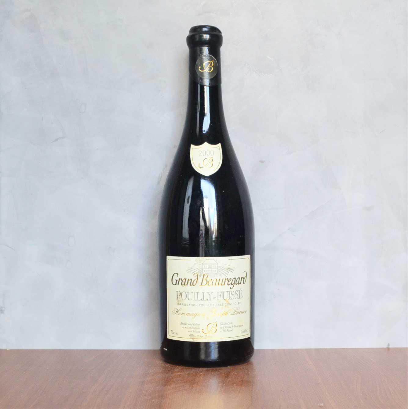 Pouilly Fuissé Grand Beauregard 2000
