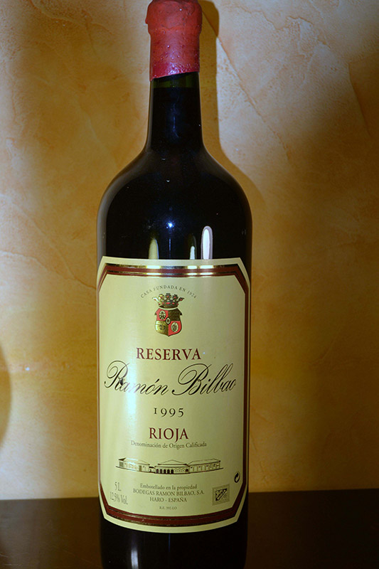 Ramón Bilbao Reserva 1995 5 litres