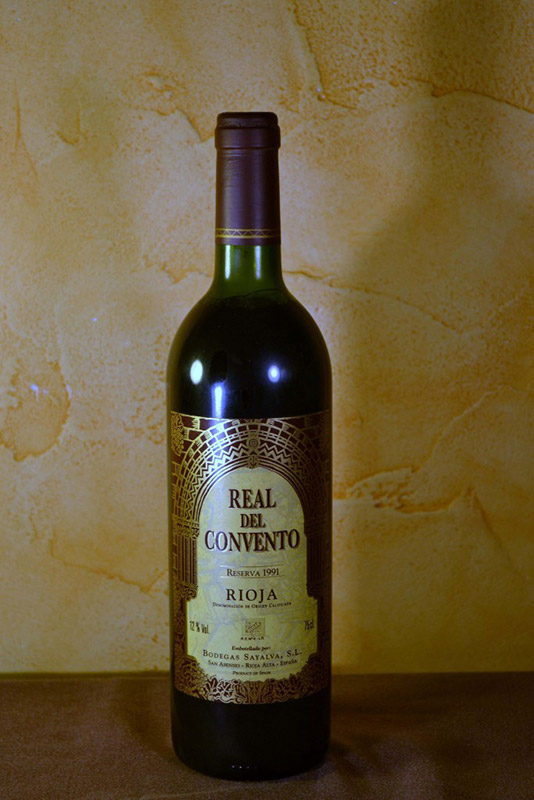 Real del Covento Sayalva Reserva 1991