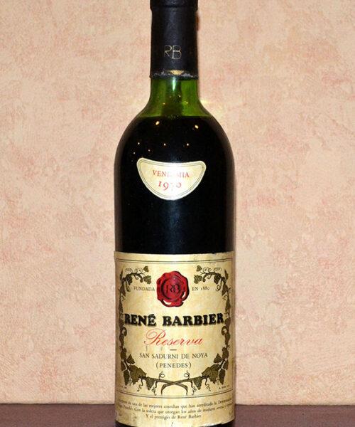 Rene Barbier Reserve 1970