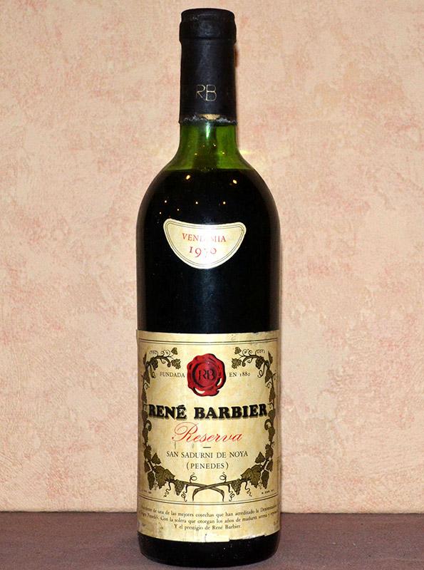 Rene Barbier Reserva 1970