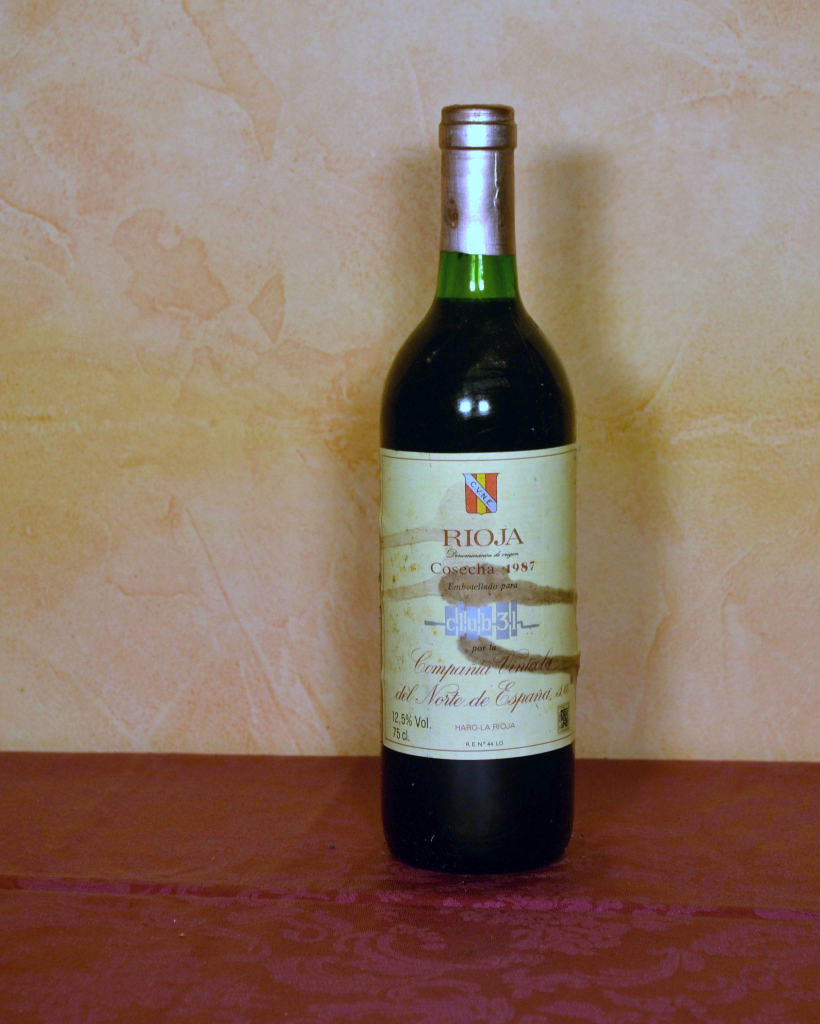 Rioja Cune Vintage 1987