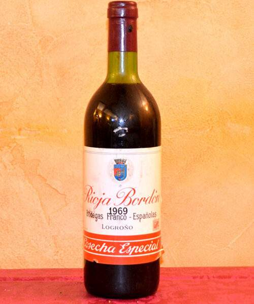 Rioja Bordón Franco-Spanish Special Vintage 1969