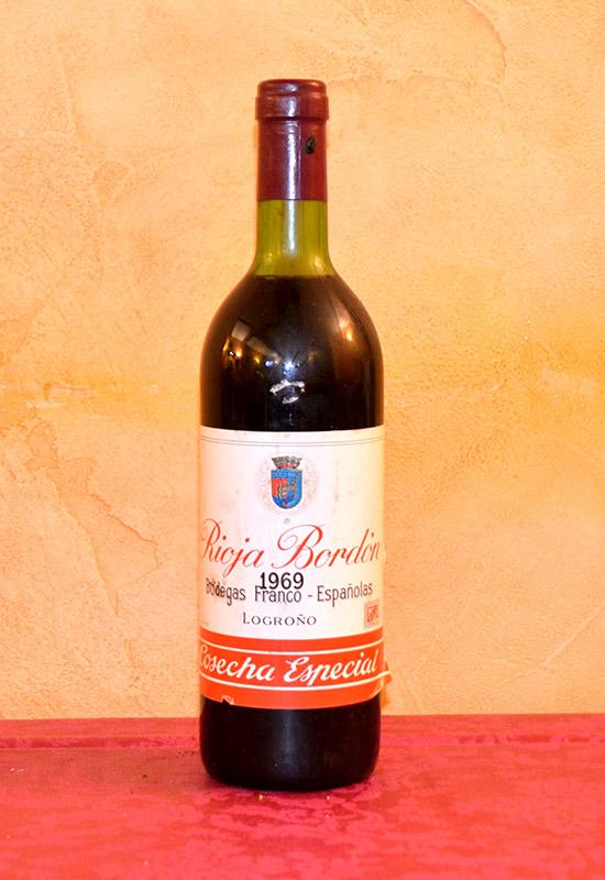 Rioja Bordón Cosecha Especial 1969