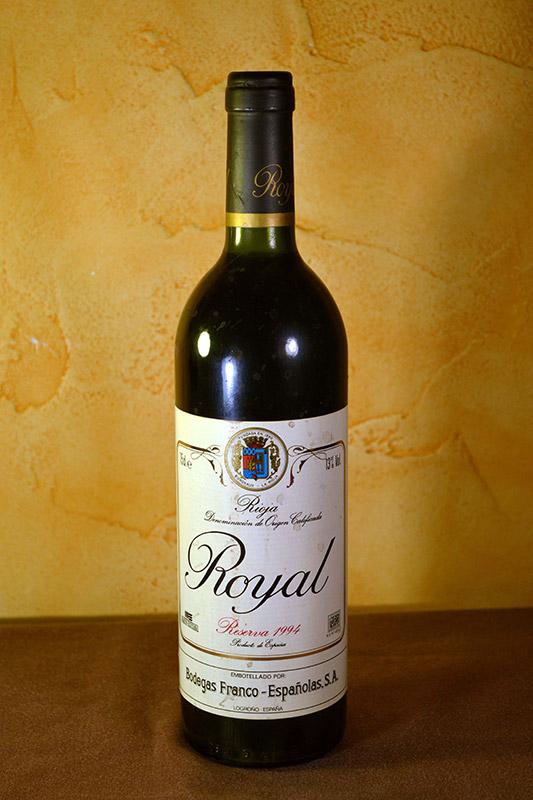 Royal Franco Españolas Reserva 1994