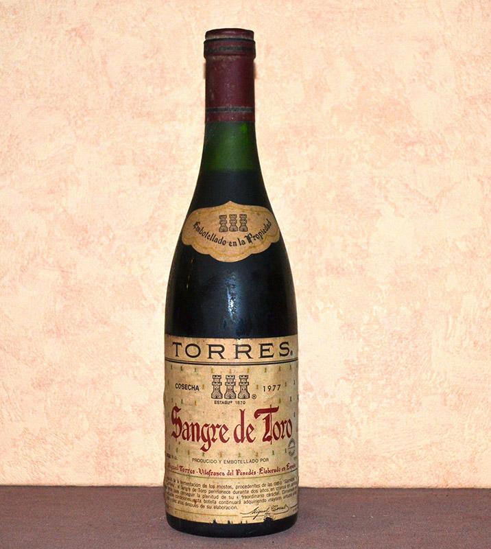 Sangre de Toro Torres 1977
