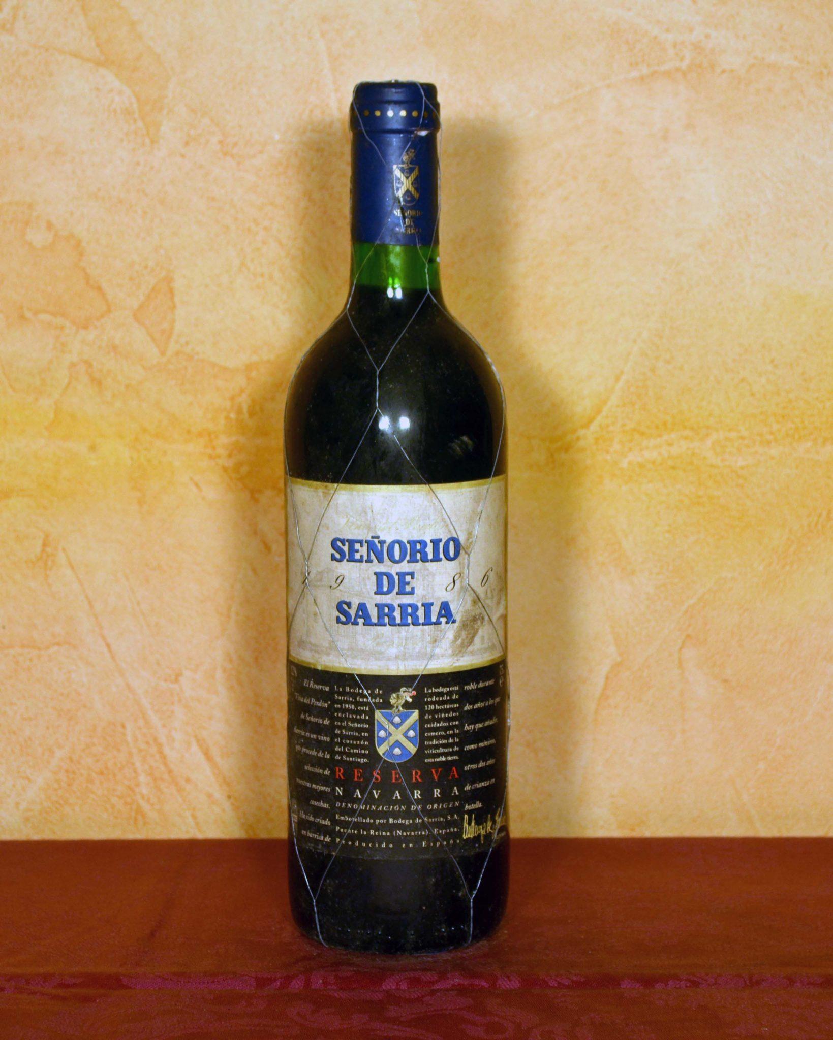 Señorio de Sarria Reserve 1986