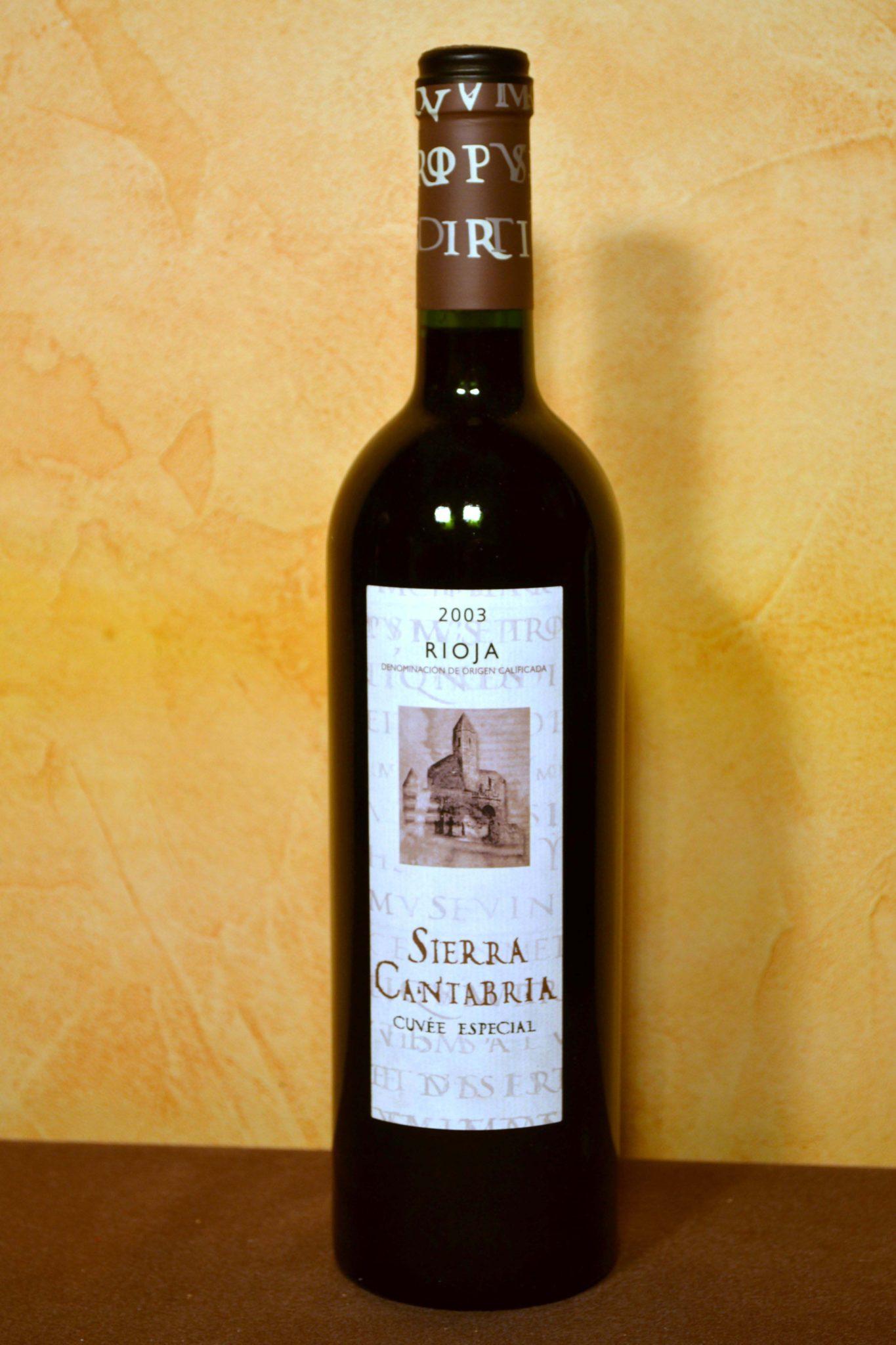 Sierra Cantabria Cuvee Special 2003