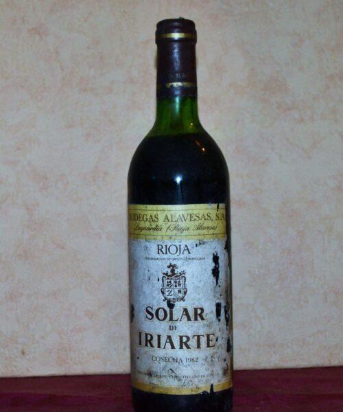 Solar de Iriarte 1982 vintage