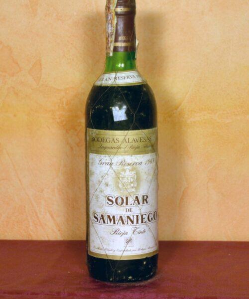 Solar de Samaniego Gran Reserva 1968
