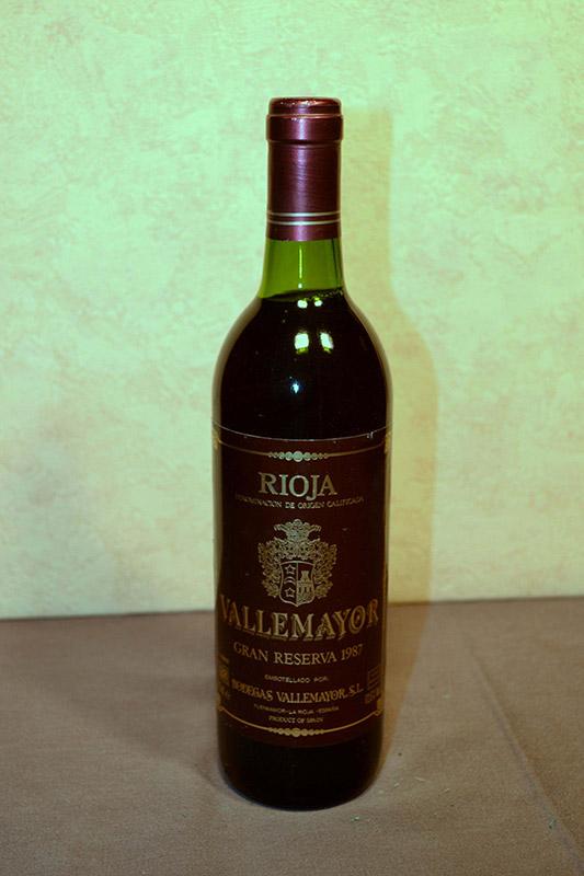 Vallemayor Gran Reserva 1987