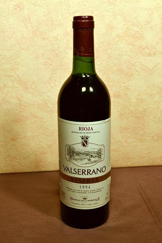 Valserrano reserva 1994