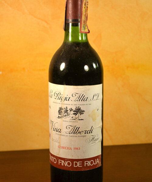 1983 Alberdi Vineyard Rioja Alta Crianza