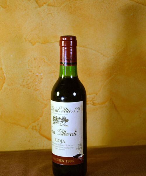 Viña Alberdi Rioja Alta Crianza 37,5 cl. 1995