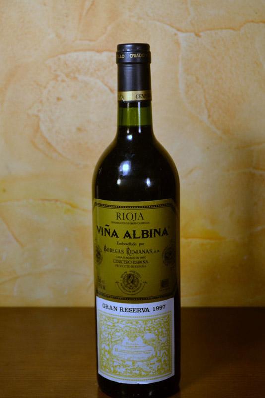 Viña Albina Gran Reserva 1997