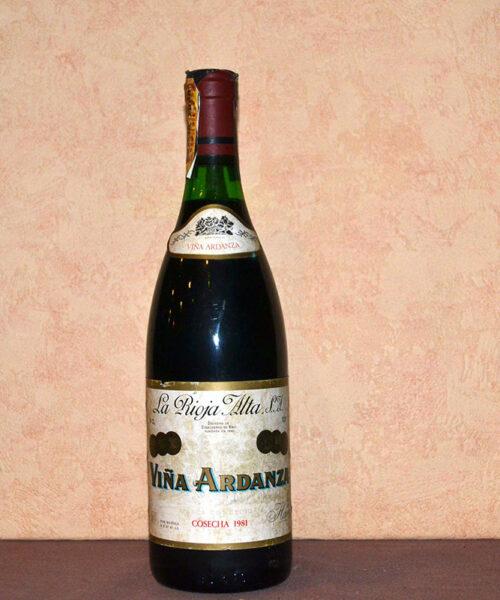 Viña Ardanza 1981
