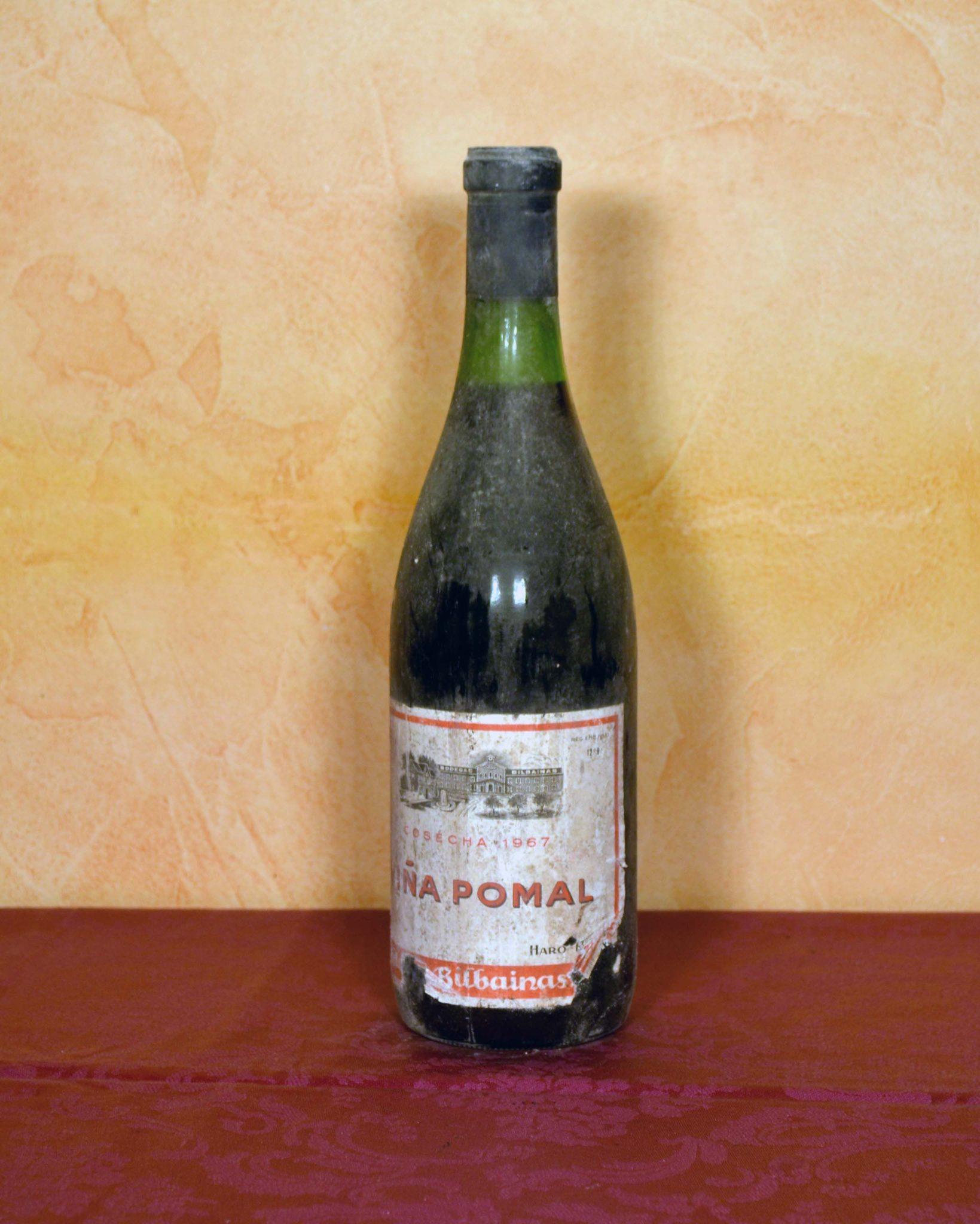 Viña Pomal Bilbainas 1967