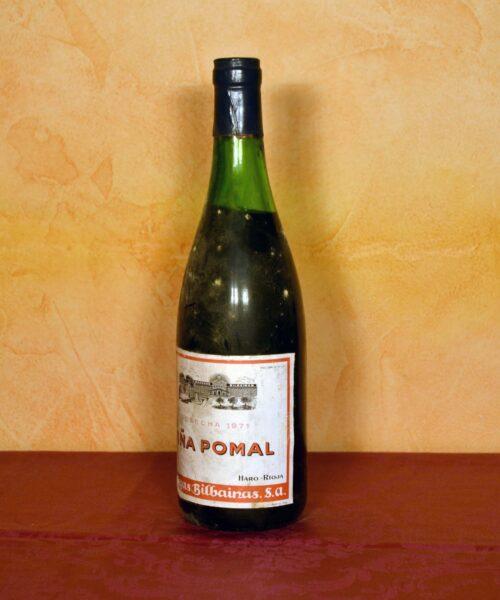 Viña Pomal Bilbainas 1971 los mejores vinos de regalo aniversario,regalo de cumpleaños, regalo de jubilación,vinos para regalar Tuhistoria.es