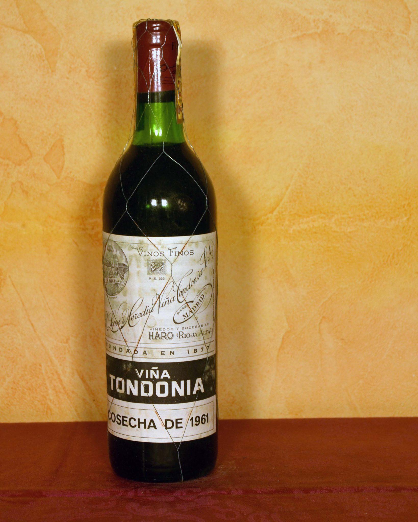 Viña Tondonia Gran Reserva 1961