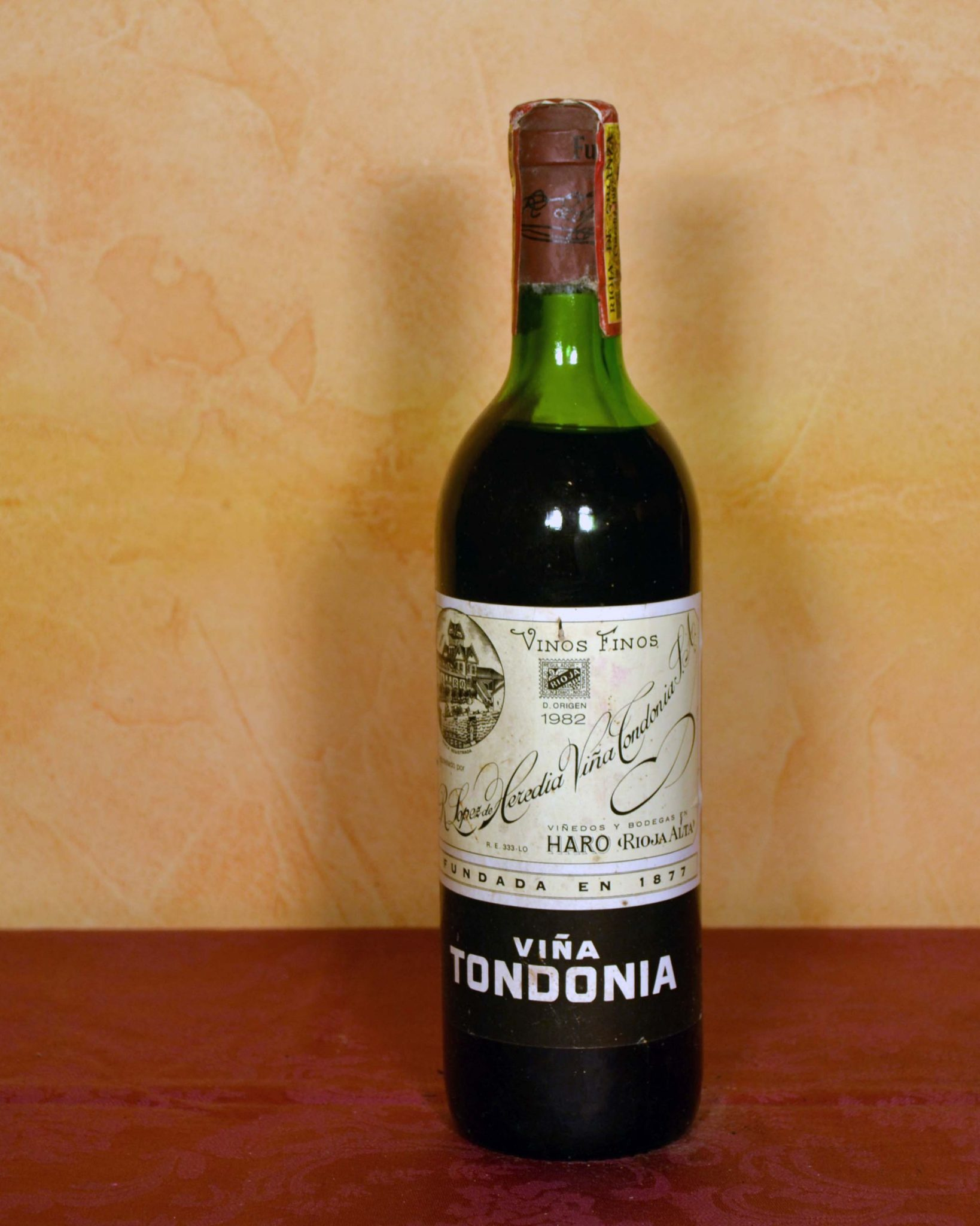 Viña Tondonia Reserva 1982 Denomination of Origin Rioja Tuhistoria.es