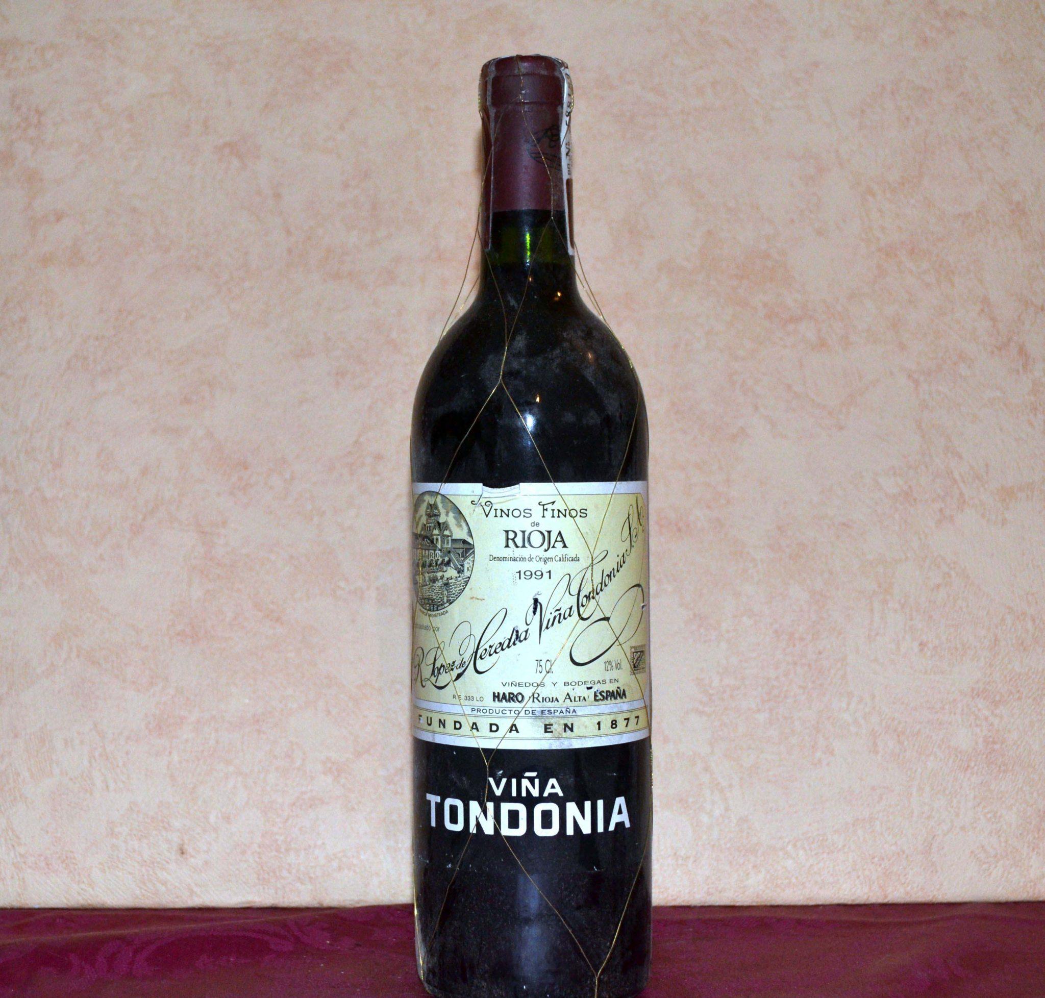 viña tondonia reserva 1991