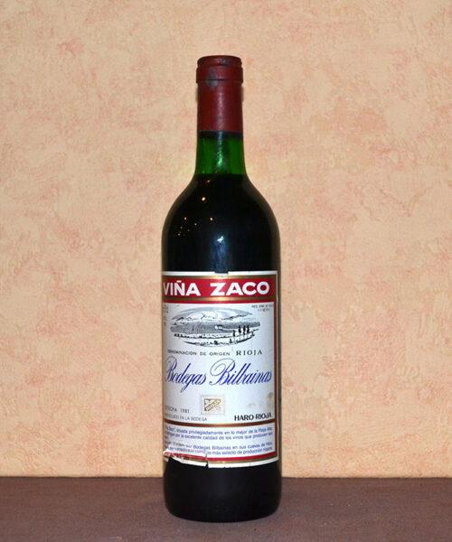 Zaco Bilbainas Vineyard 1981 Vintage
