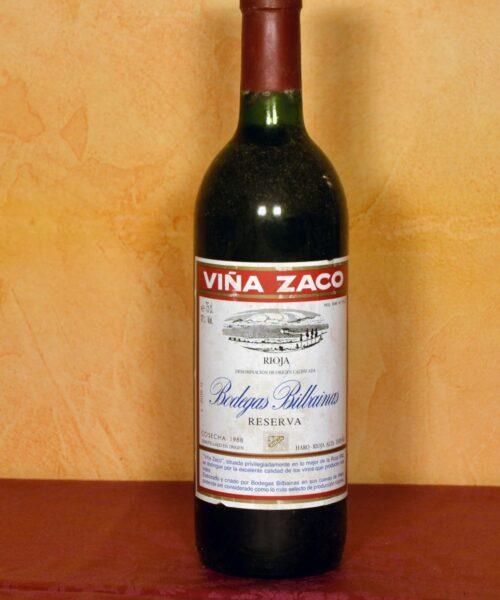Viña Zaco Reserva 1988