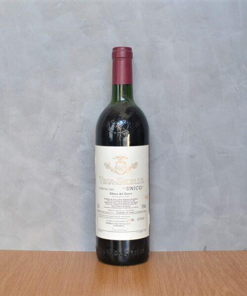 Vega Sicilia Unique 1983