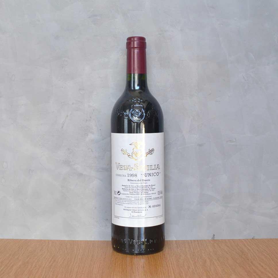 Vega Sicilia Único 1998