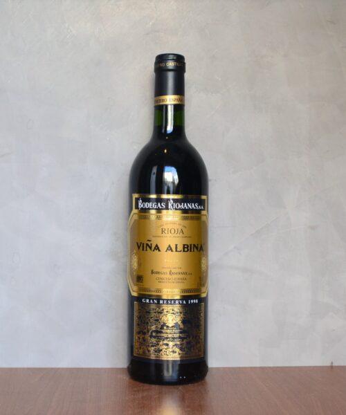 Viña Albina gran reserva 1998