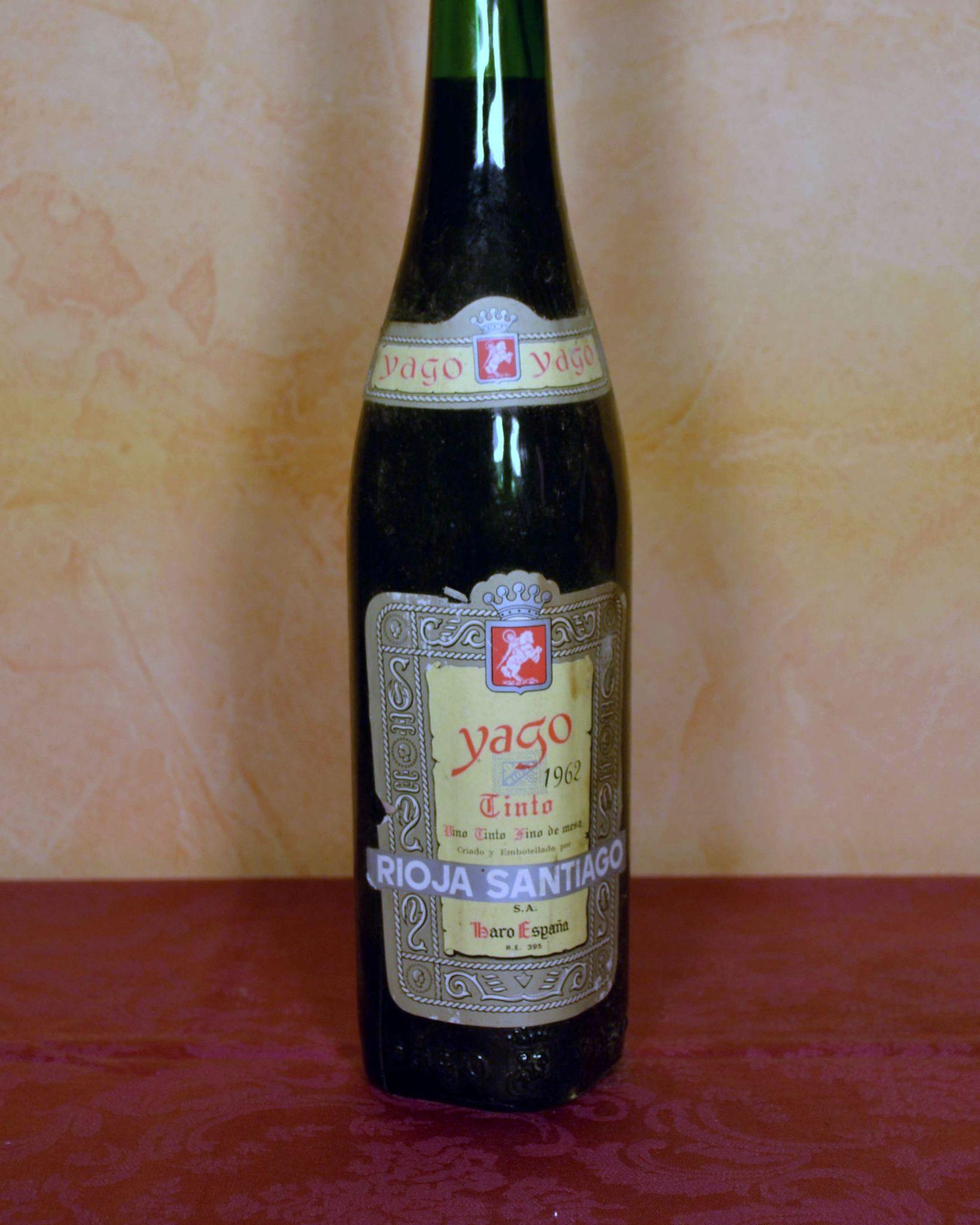 Yago Rioja Santiago Vintage 1962