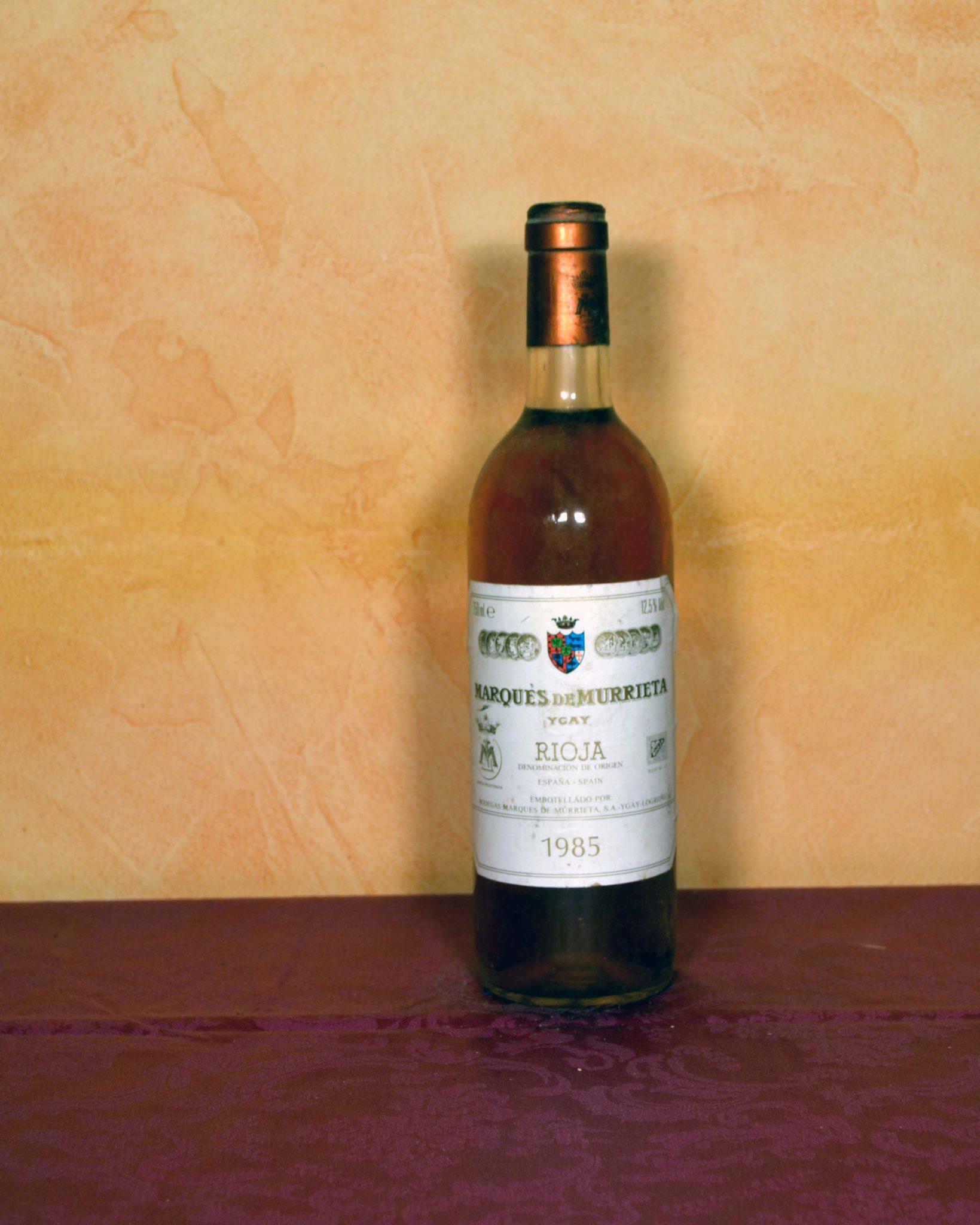 Marques de Murrieta blanco 1985