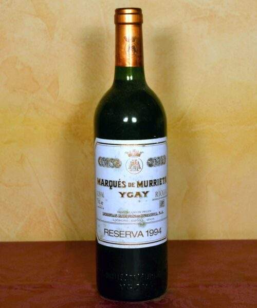Marques de Murrieta reserva 1994