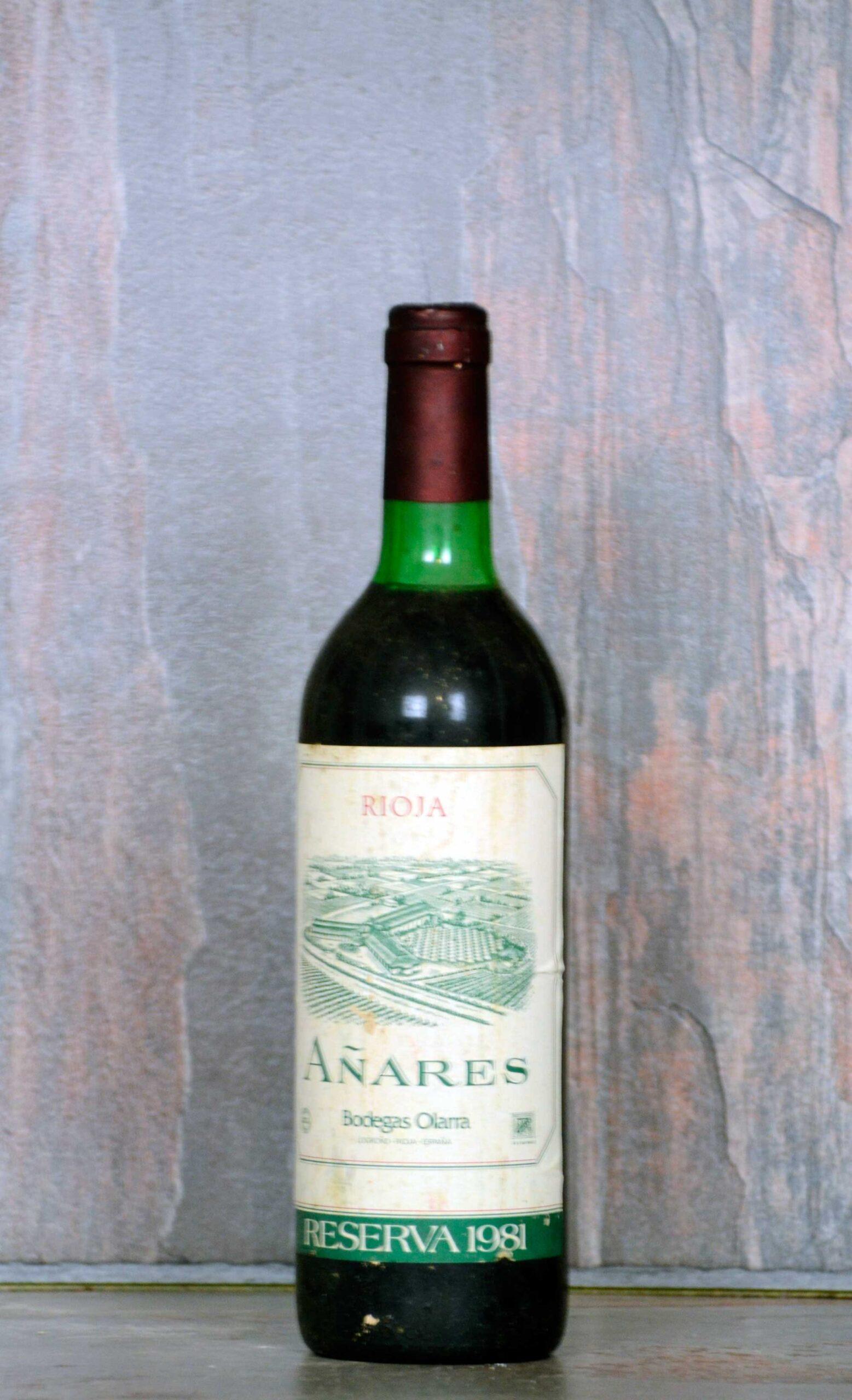 Añares reserva 1981
