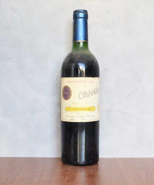 Chivite Coleccion 125 Gran reserva 1988