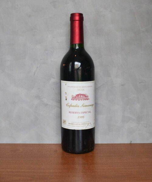 Cofradia Samaniego reserva especial 1995