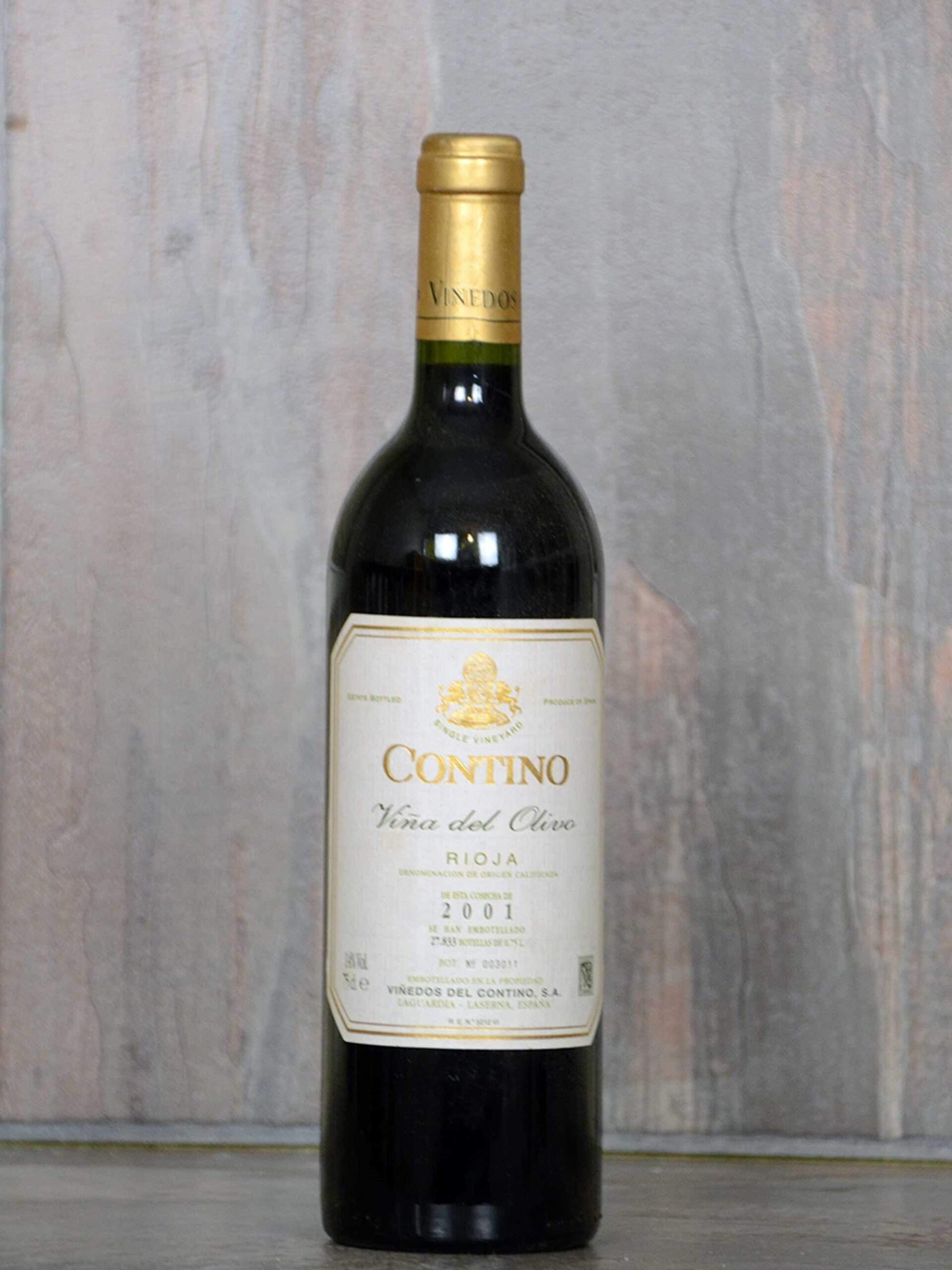 Contino Viña del olivo 2001