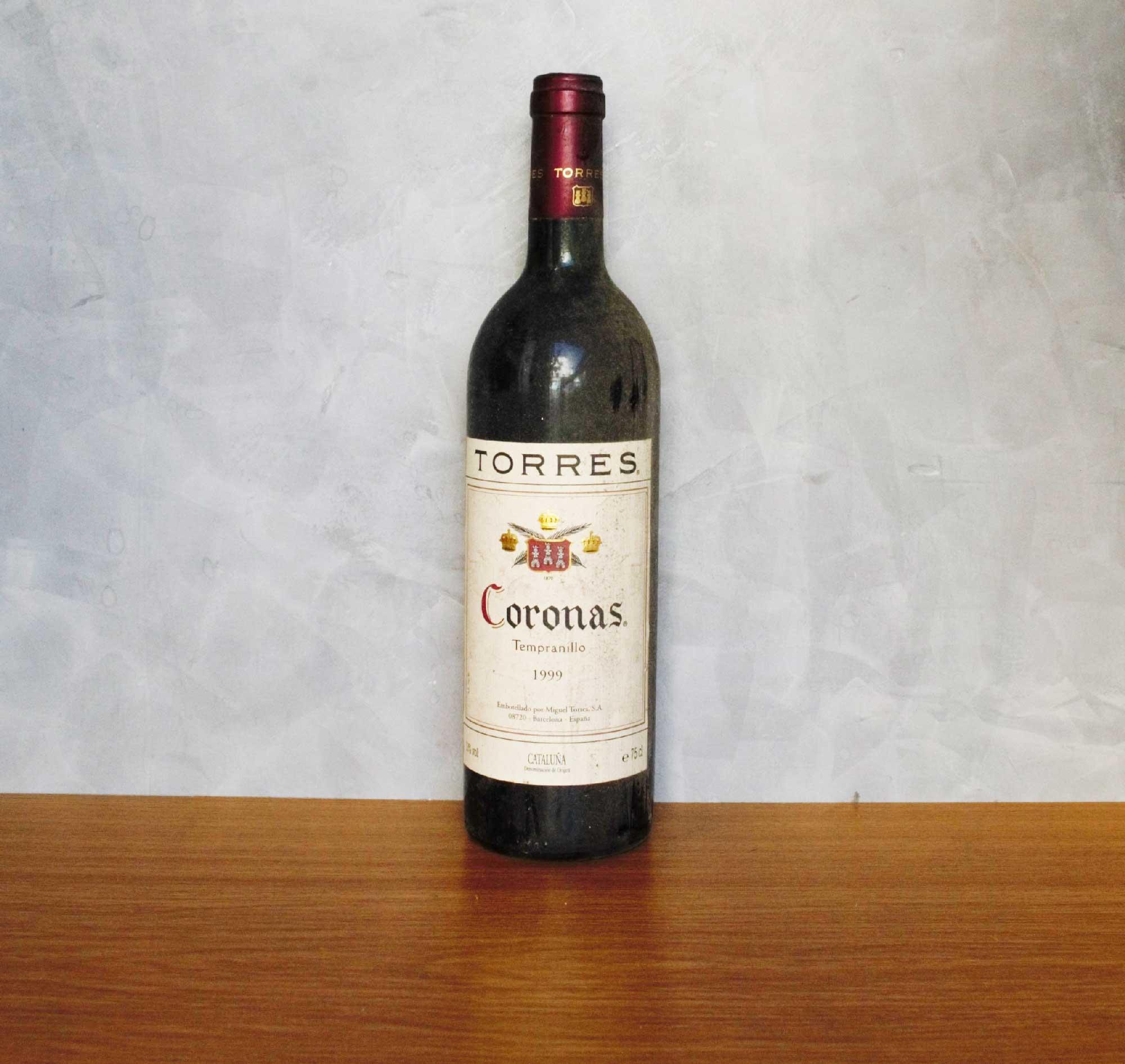 Coronas tempranillo 1999