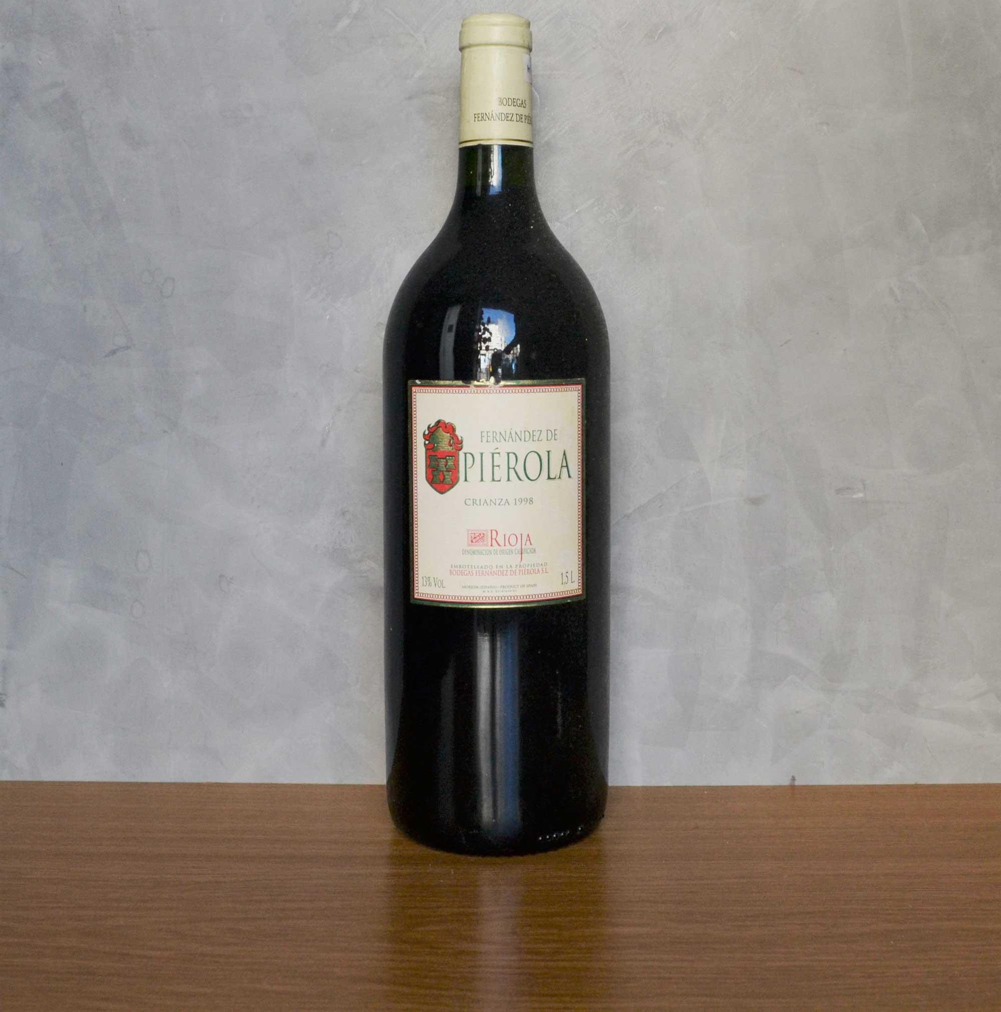 Fernandez de Piérola magnum crianza 1998