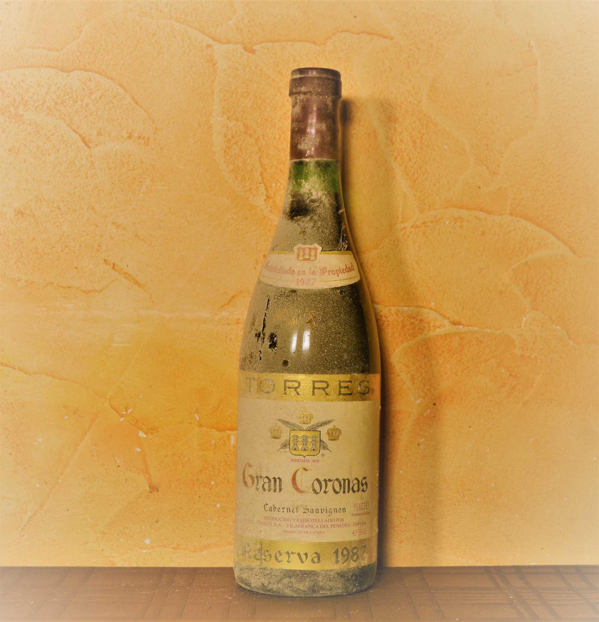 Gran Coronas reserva 1987