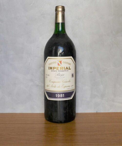 Imperial Gran reserva Magnum 1981