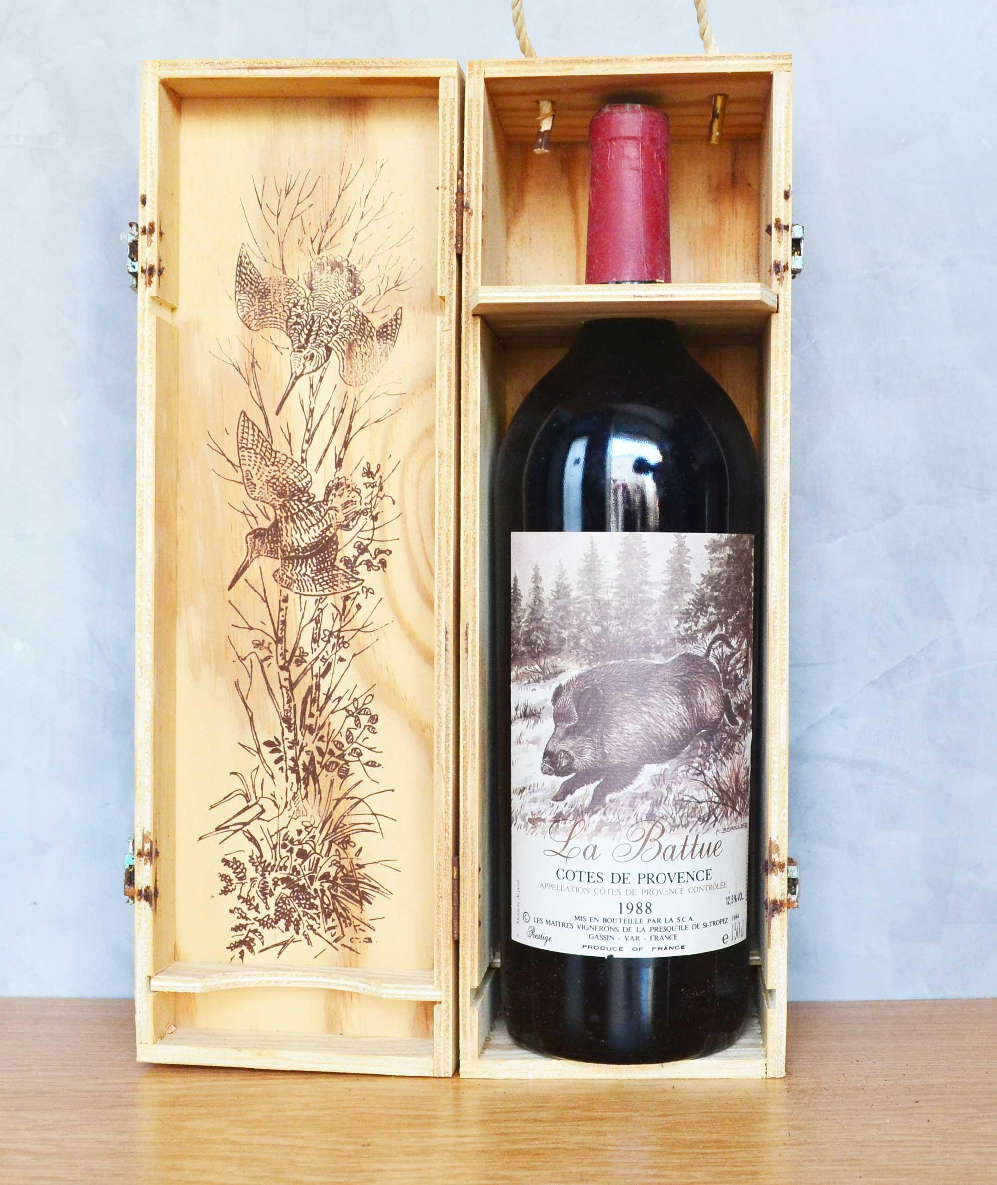 La Battue Côtes du Provence magnum 1988
