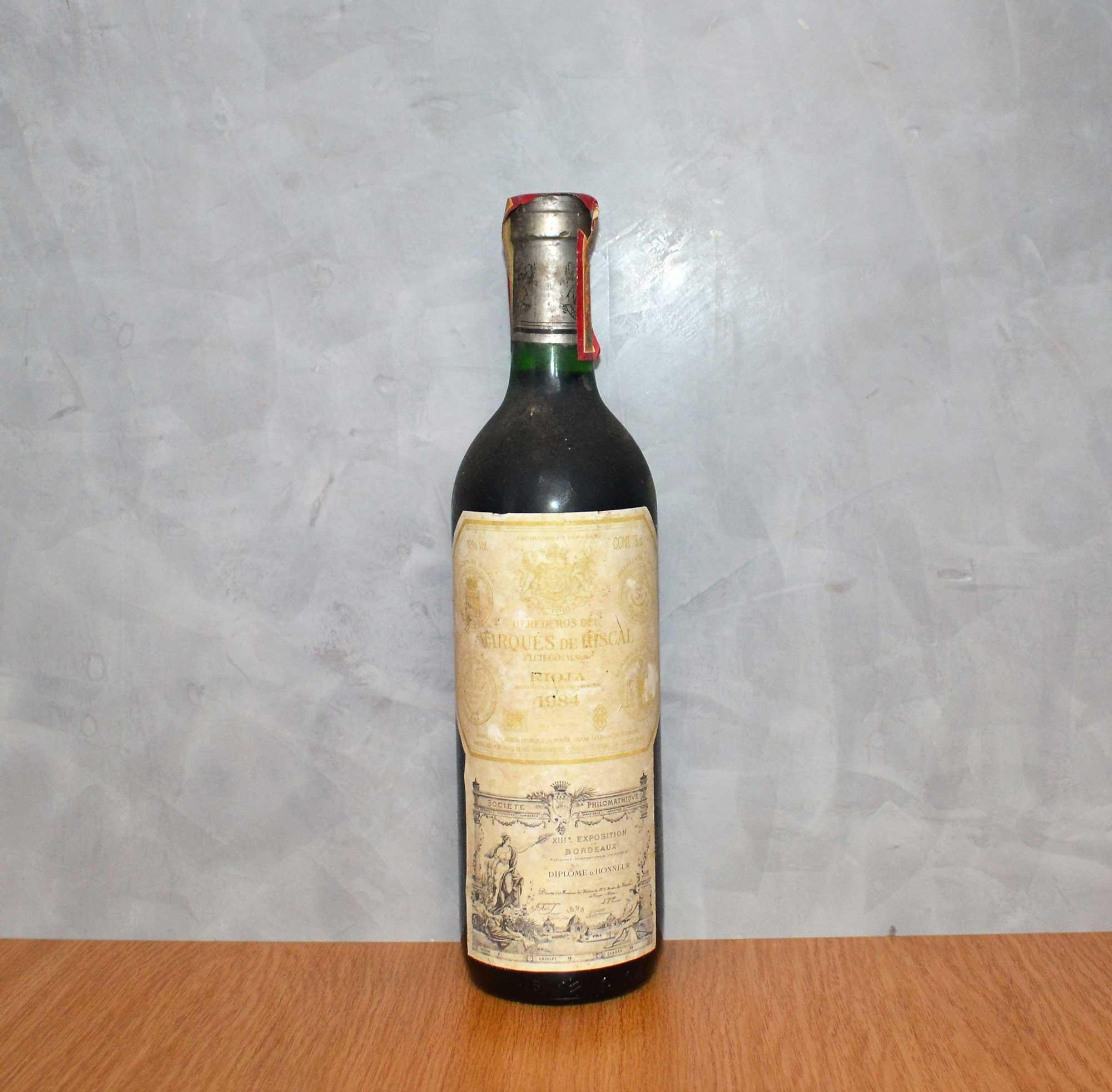 Marques de Riscal 1984