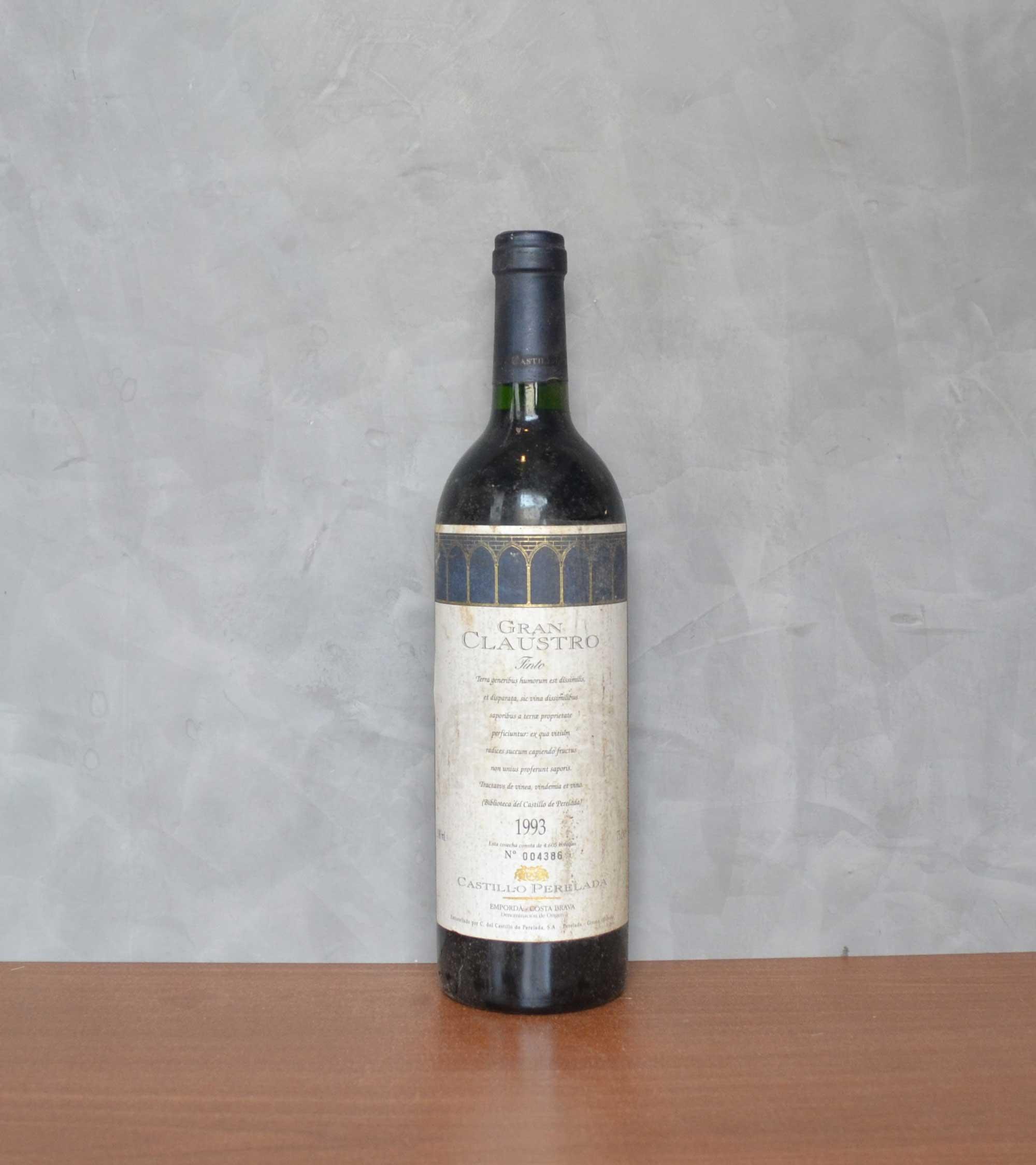 Perelada great cloister 1993