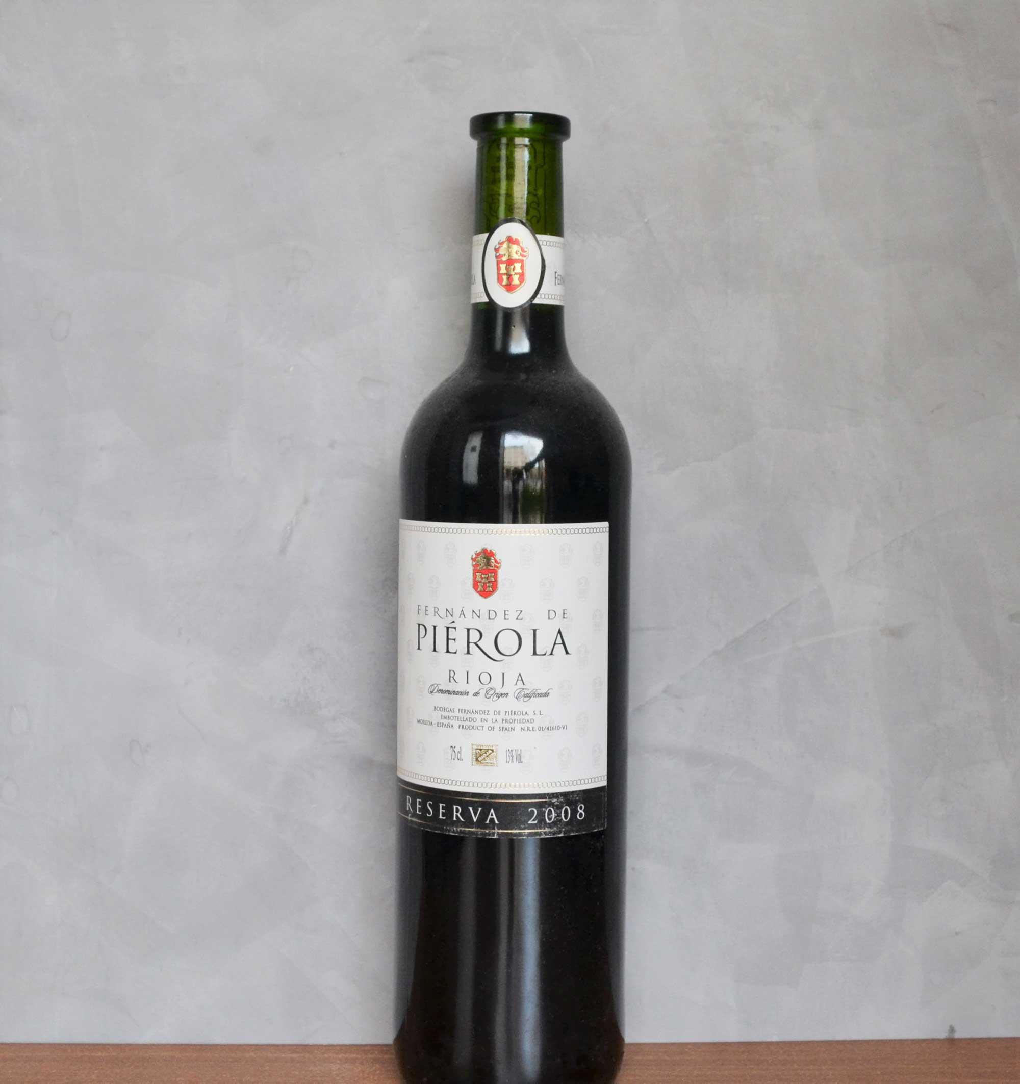 Pierola reserva 2008