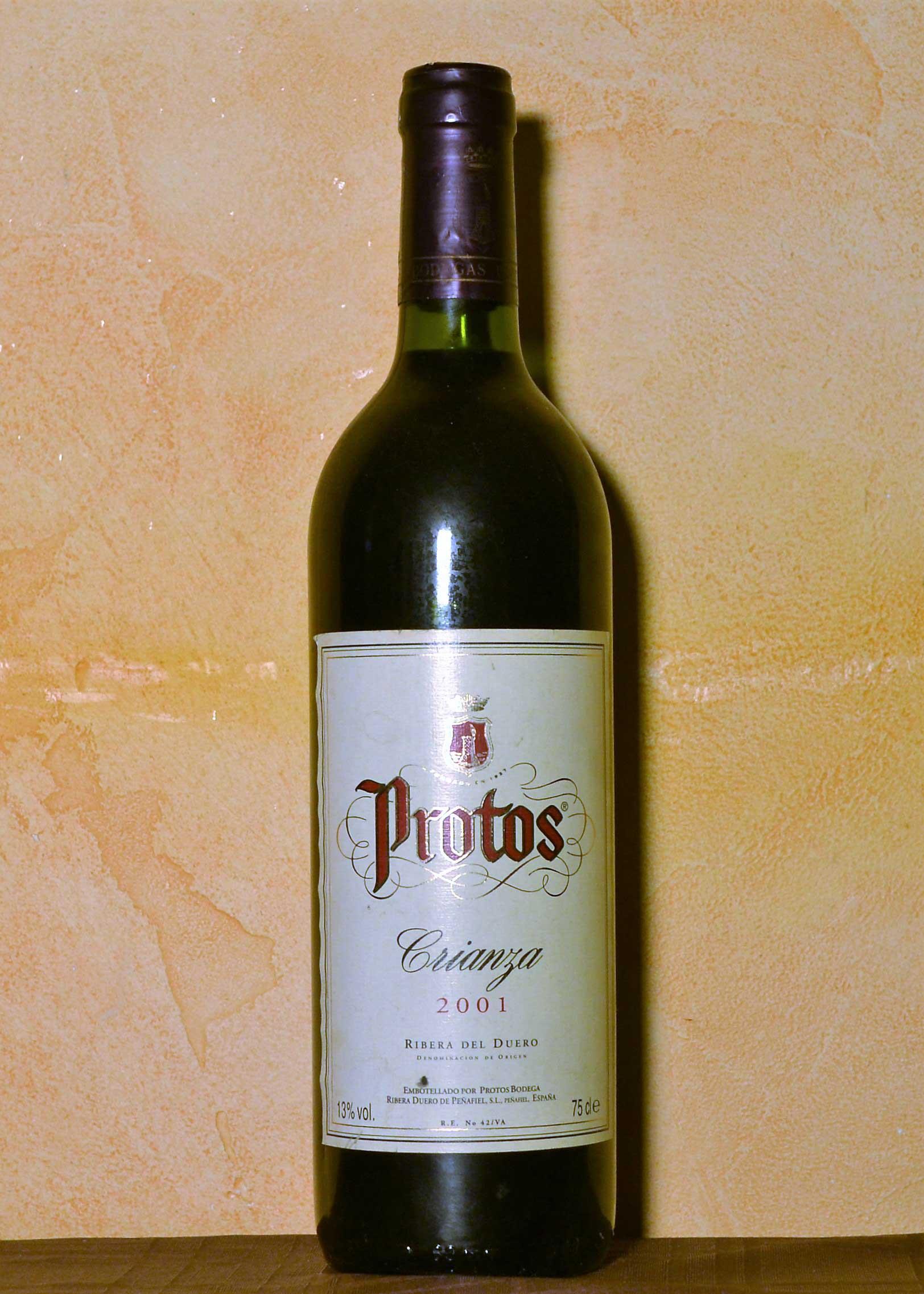 Protos Crianza 2001
