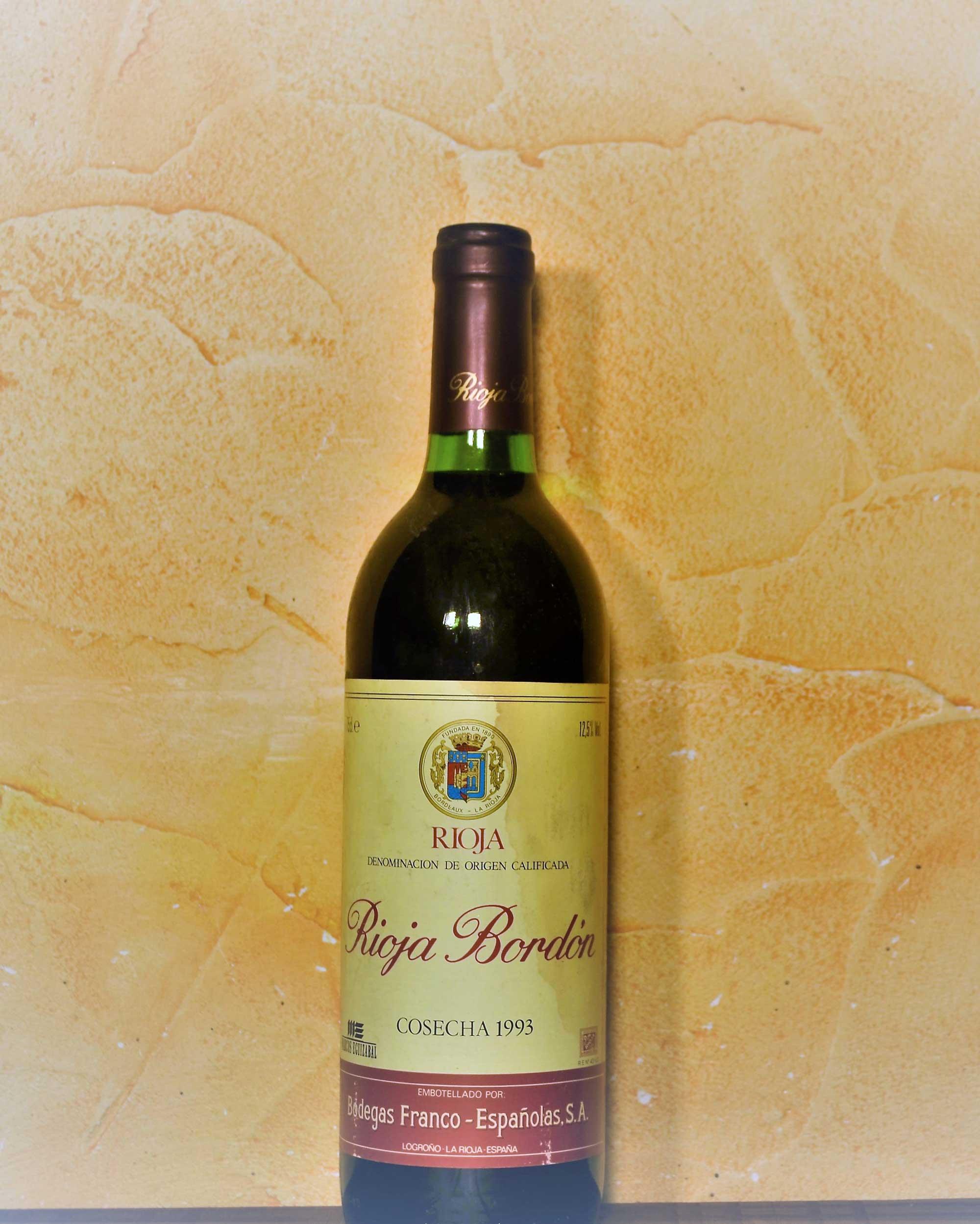 Rioja Bordon Crianza 1993