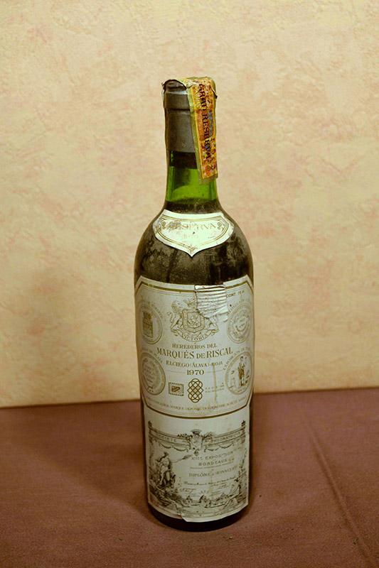 Marques de Riscal reserva 1970
