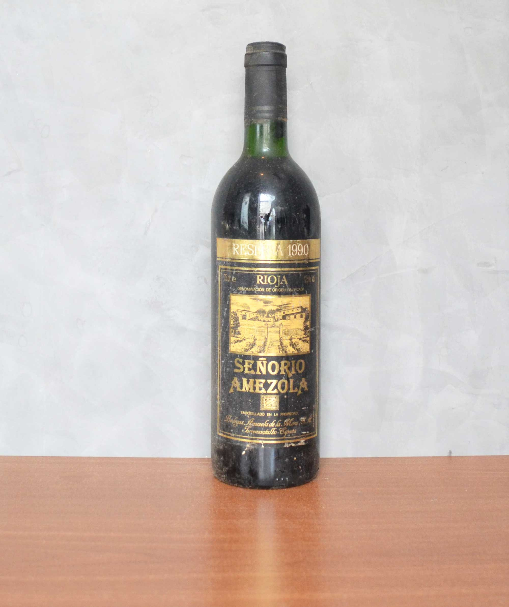 señorio amezola reserve 1990